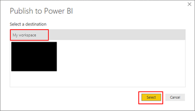 BizTalk operational data: OperationalDataService Power BI Template Publish destination