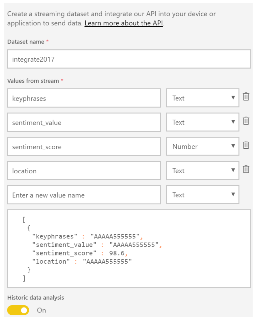 Building sentiment analysis solution with Azure Logic Apps