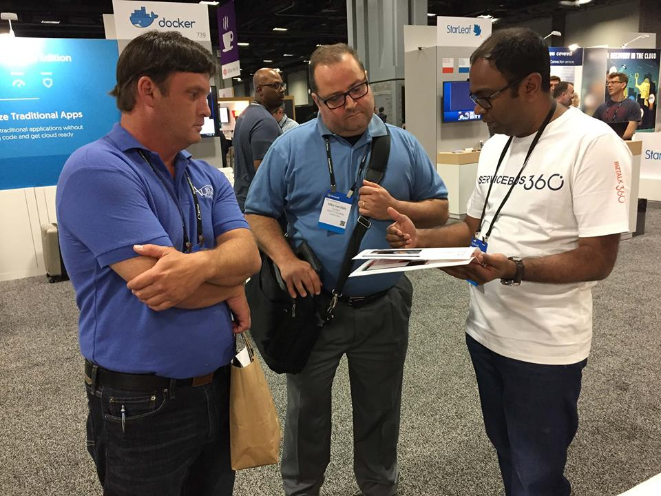 ServiceBus360 demo at Inspire 2017 booth