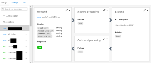 How to import a Postman collection into your Azure API