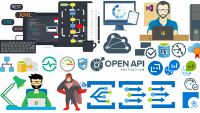 Microsoft Integration (Azure and much more) Stencils Pack v2.6 for Visio 2016/2013: Azure Event Grid, BizMan, IoT and much more