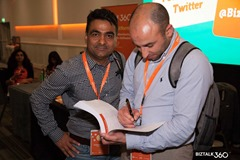 INTEGRATE 2017 USA: Sandro Pereira Signing is book