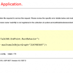 """Our experience in solving """"webHttp"""" issue"""