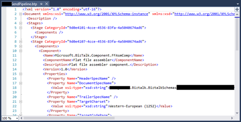 BizTalk Pipeline does not open with BizTalk Pipeline Editor: Pipeline open with XML Text Editor