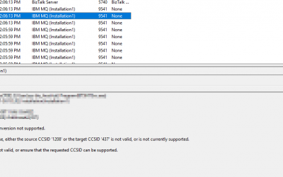 Setting the MQSeries CCSID by using an Environment Variable