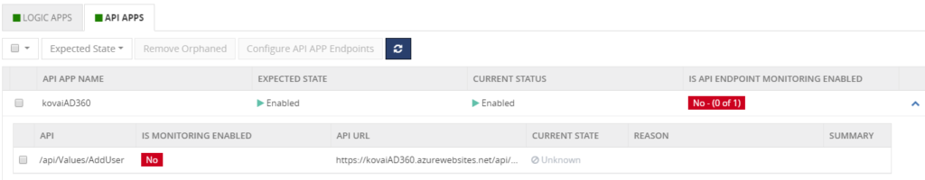 Azure API Apps Monitoring in BizTalk360