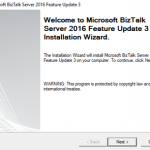 BizTalk Server 2016 Feature Pack 3 is publicly available, and I have to try it!
