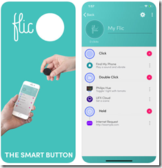 Flic Smart Button Mobile App Android