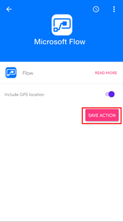 Flic Smart Button Mobile App Phone button Flow save