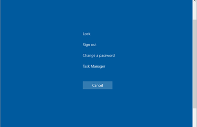 Note to myself: How to perform a CTRL+ALT+DEL inside an Azure Virtual Machine?