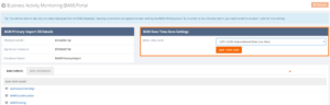 Configure time zone in BizTalk360 BAM portal