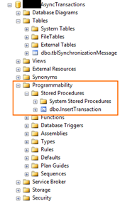 StoredProcedure does not exist: Stored Procedure exist