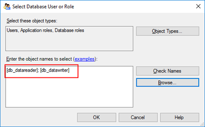 StoredProcedure does not exist: Select database User or Role