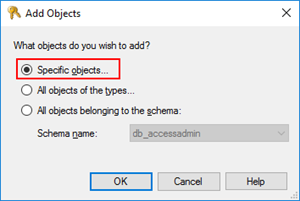 StoredProcedure does not exist: add objects
