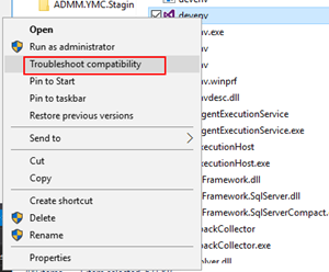 Visual Studio: troubleshoot compatibility