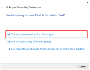 Visual Studio: save settings