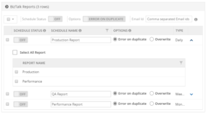 Importing BizTalk Reports