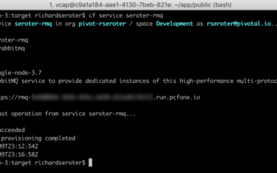 Wait, THAT runs on Pivotal Cloud Foundry? Part 3 – Background, batch, and scheduled jobs