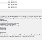 BizTalk Server WCF-SAP Adapter: System.ArgumentException: An item with the same key has already been added