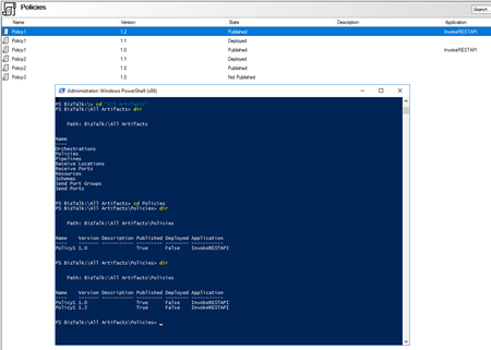 Monitoring BRE Policies Pending to be Deployed: BizTalkFactory PowerShell Provider