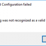 Host Integration Server: String was not recognized as a valid DateTime while open HIS Configuration Console