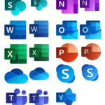New Office365 icons are now included in Microsoft Integration (Azure and much more) Stencils Pack v3.1.1 for Visio