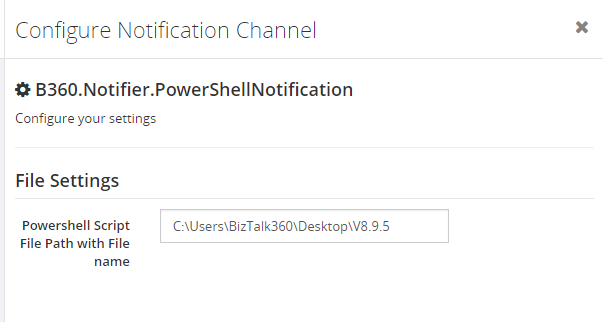 Terminating Dehydrated Service instances - Associate the Powershell Script Path