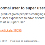 User Access Policy – Switch user types