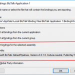 BizTalk Bindings Exportation: How to Export BizTalk Server Resource Bindings by Assembly FQ Name with PowerShell