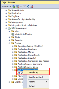 BizTalk Server and SSIS: create a new proxy