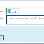 System Alerts and Unmapped Application Artifacts in BizTalk360