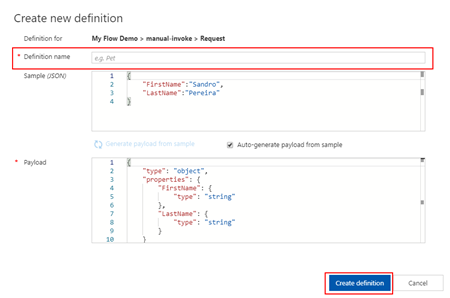 Azure API Management Create Add Blank API operation frontend reques representation New definition