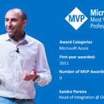 Thanks! Awarded as Microsoft Azure MVP 2019-2020