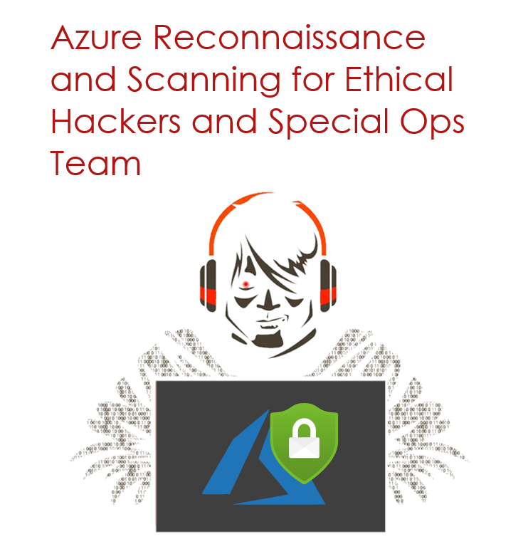 Azure Reconnaissance and Scanning for Ethical Hackers and Special Ops Team