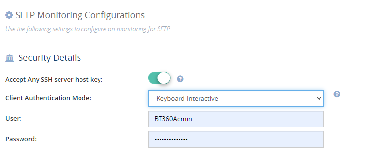 Keyboard Interactive Authentication