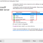 BizTalk Server 2020 Configuration: Error validating the SSIS Catalog database. Please ensure SQL Server Integration Services is installed on the local machine and SSIS Catalog is created on target SQL Server