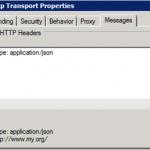 Sending JSON messages from a BizTalk2013 adaptor