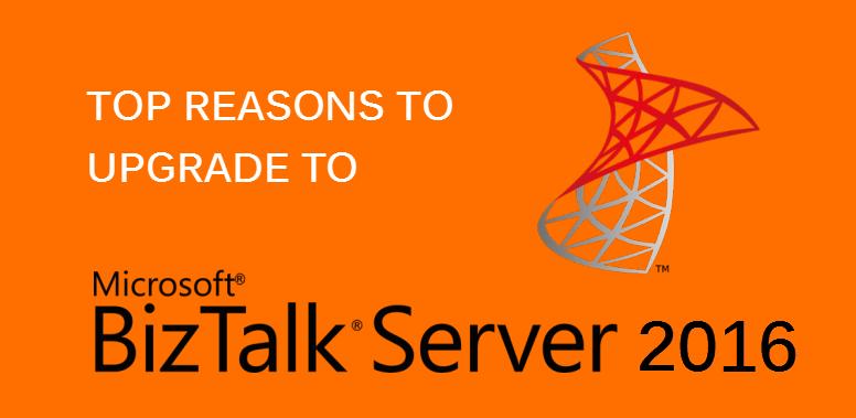 BizTalk-Server-2016 - upgrade