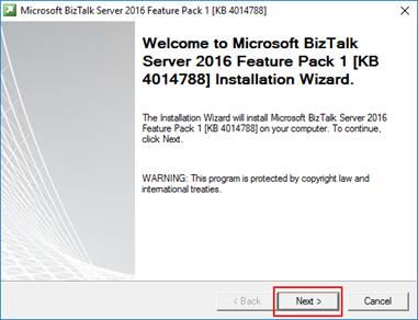BizTalk Server 2016 Feature Pack 1 Welcome