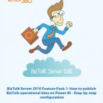 Step by step configuration to publish BizTalk operational data on Power BI whitepaper