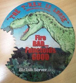 BizMan, The BizTalk Server SuperHero: The T-Rex is loose