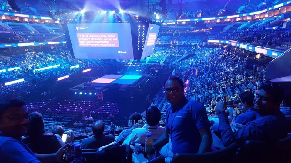 Microsoft Inspire 2017 Stadium
