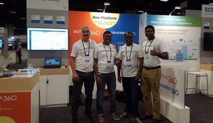 BizTalk360 booth at Inspire 2017 Redmond