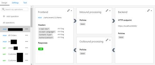 import a Postman: Azure API Management Add API OpenAPI result