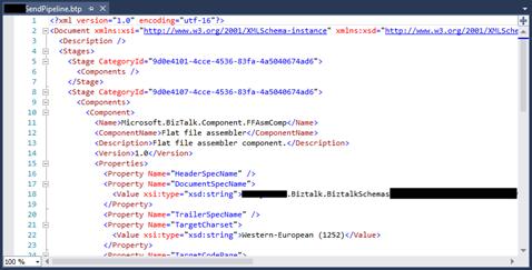 BizTalk Pipeline does not open with BizTalk Pipeline Editor: Pipeline open with XML Text Editor