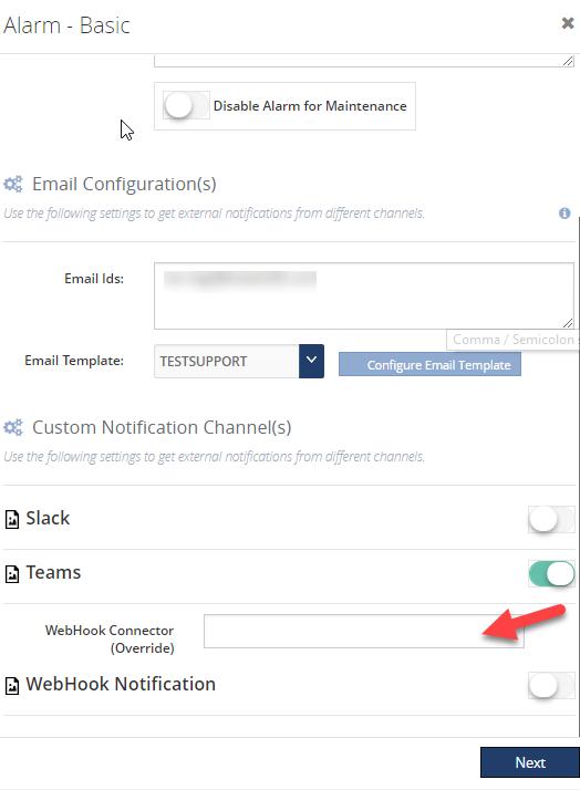 Microsoft Teams Notification Channel in BizTalk360