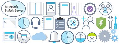 Microsoft Integration (Azure and much more) Stencils Pack: BizTalk, Azure