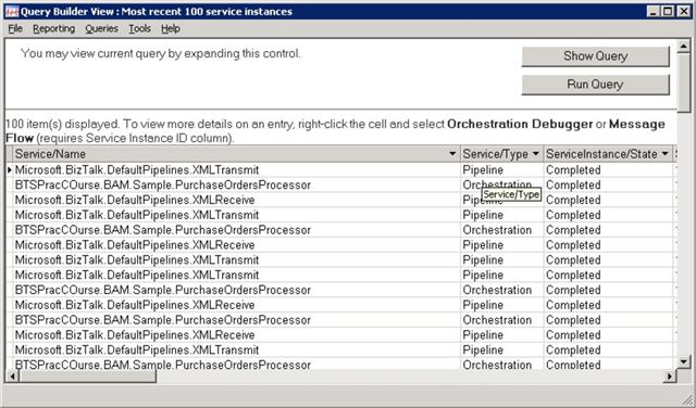 Health and Activity Tracker in BizTalk Server 2004
