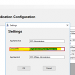 How to configure and use my SSO Application Configuration tool