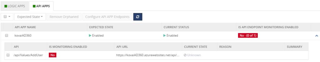 Azure API Apps Monitoring in BizTalk360